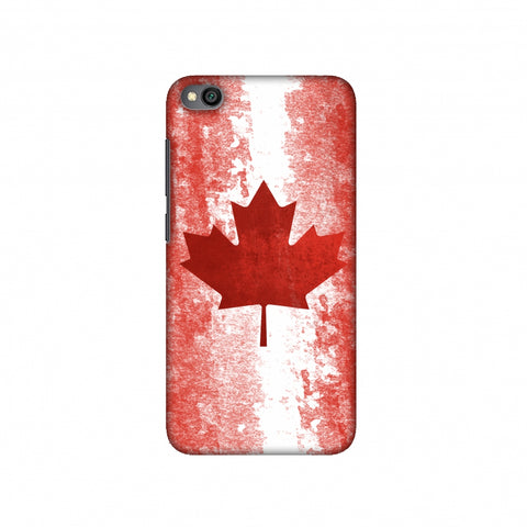 Love For Canada Slim Hard Shell Case For Redmi Go