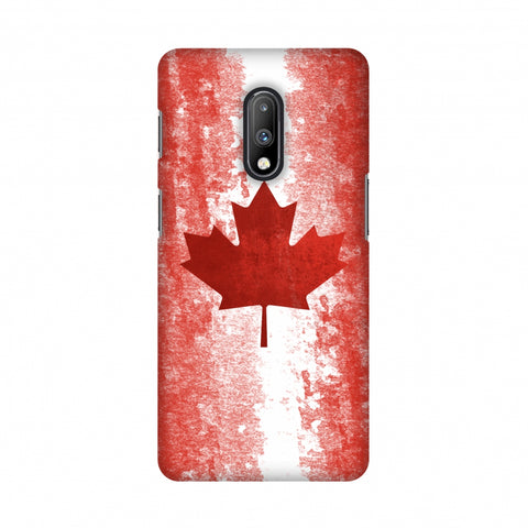 Love For Canada Slim Hard Shell Case For OnePlus 7