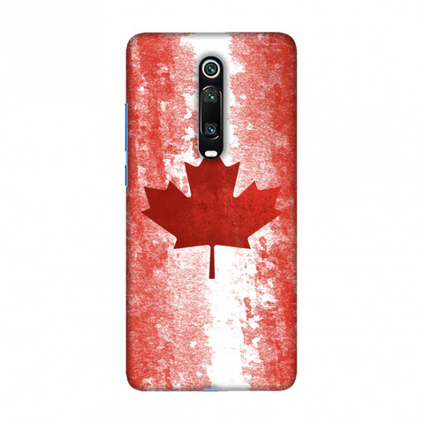 Love For Canada Slim Hard Shell Case For Redmi K20/K20 Pro
