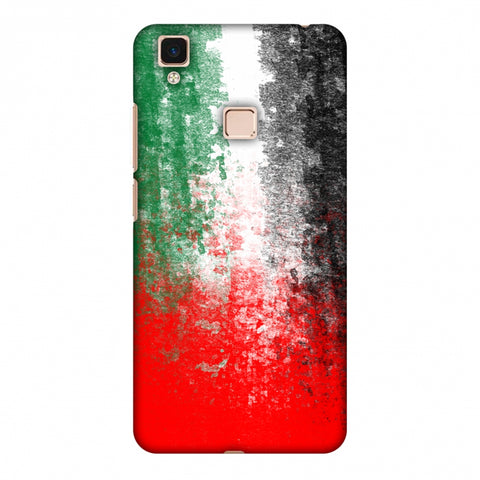 Love For United Arab Emirates Slim Hard Shell Case For Vivo V3 Max