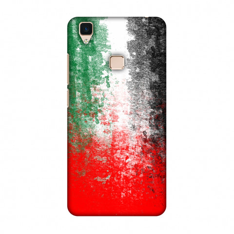 Love For United Arab Emirates Slim Hard Shell Case For Vivo V3