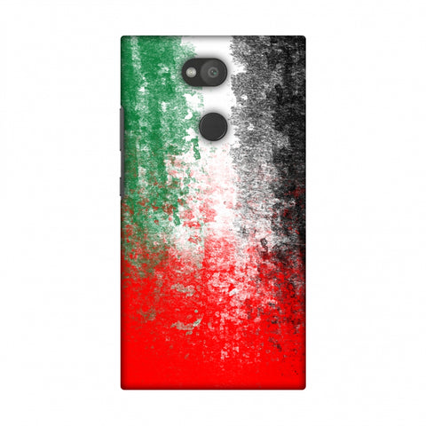 Love For United Arab Emirates Slim Hard Shell Case For Sony Xperia L2