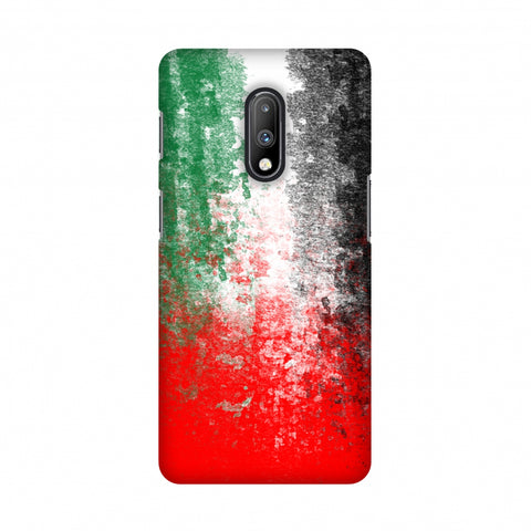Love For United Arab Emirates Slim Hard Shell Case For OnePlus 7