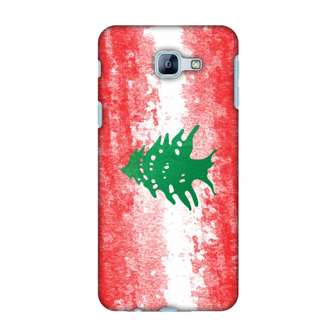 Love For Lebanon Slim Hard Shell Case For Samsung Galaxy A8 2016