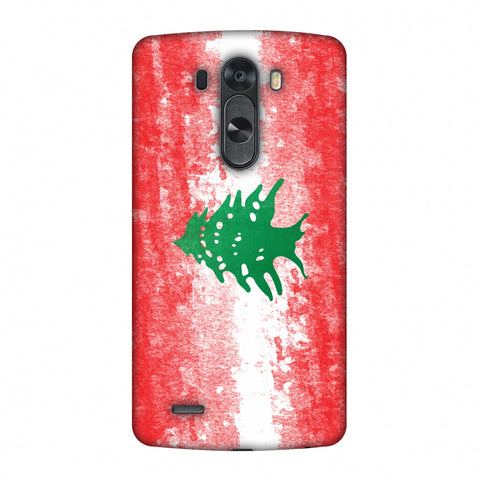 Love For Lebanon Slim Hard Shell Case For LG G4