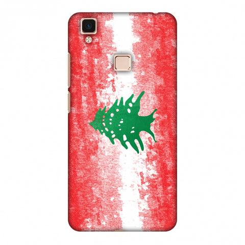 Love For Lebanon Slim Hard Shell Case For Vivo V3 Max