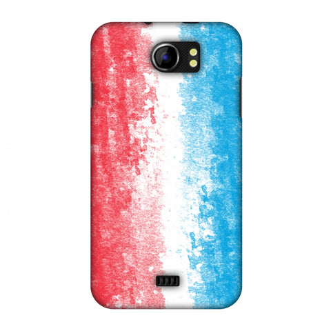 Love For Luxembourg Slim Hard Shell Case For Micromax Canvas 2 A110