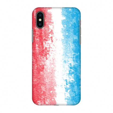 Love For Luxembourg Slim Hard Shell Case For Apple iPhone X