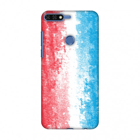Love For Luxembourg Slim Hard Shell Case For Huawei Honor 7C