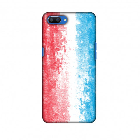 Love For Luxembourg Slim Hard Shell Case For Oppo Realme C1