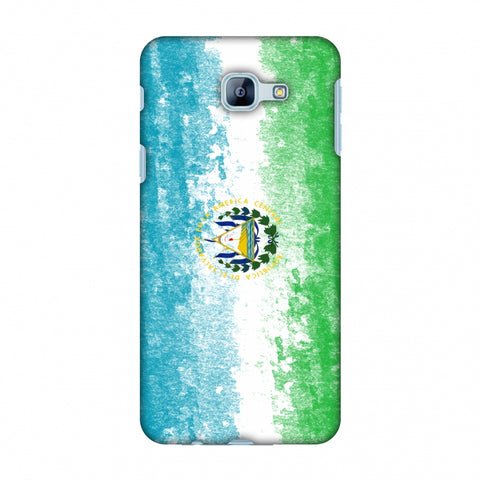 Love For El Salvador Slim Hard Shell Case For Samsung Galaxy A8 2016