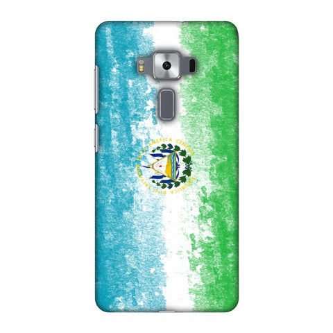 Love For El Salvador Slim Hard Shell Case For Asus Zenfone 3 Deluxe ZS570KL