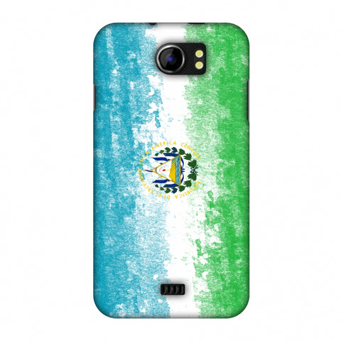 Love For El Salvador Slim Hard Shell Case For Micromax Canvas 2 A110