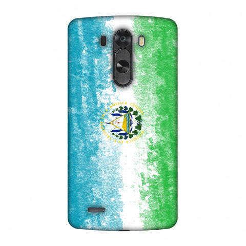 Love For El Salvador Slim Hard Shell Case For LG G4