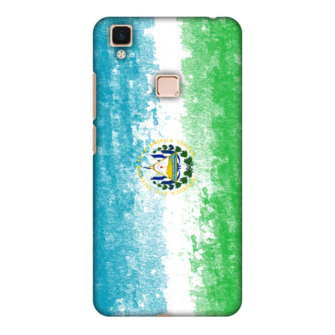Love For El Salvador Slim Hard Shell Case For Vivo V3 Max