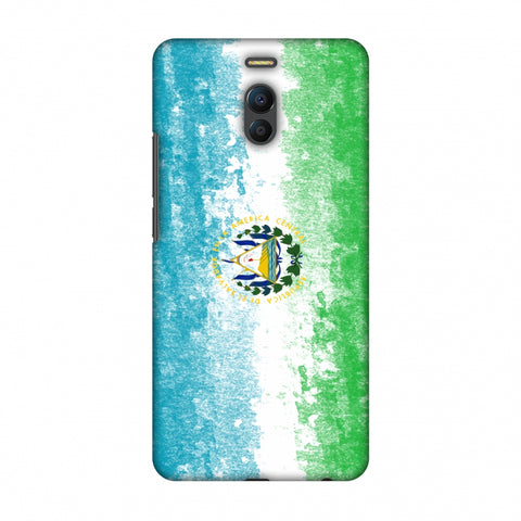 Love For El Salvador Slim Hard Shell Case For Meizu Note 6
