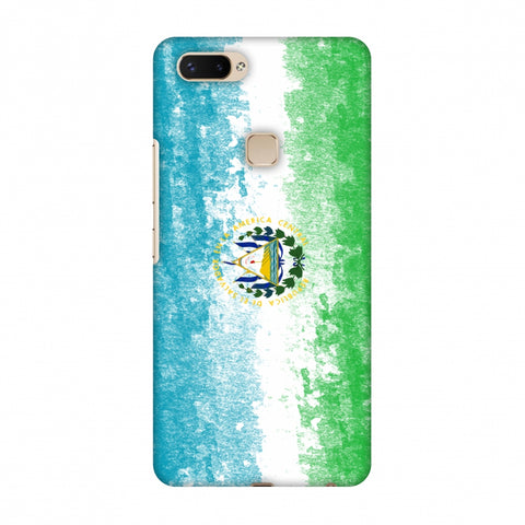 Love For El Salvador Slim Hard Shell Case For Vivo X20 Plus
