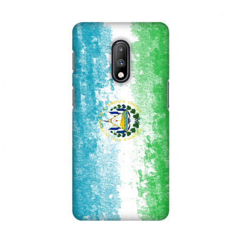 Love For El Salvador Slim Hard Shell Case For OnePlus 7