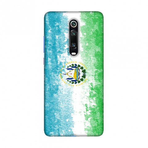 Love For El Salvador Slim Hard Shell Case For Redmi K20/K20 Pro