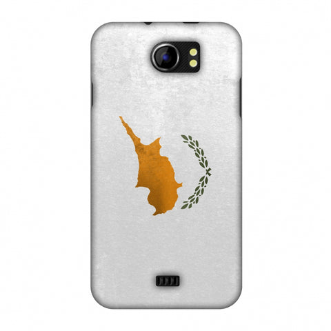 Love For Cyprus Slim Hard Shell Case For Micromax Canvas 2 A110