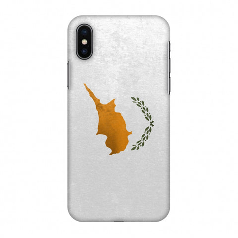 Love For Cyprus Slim Hard Shell Case For Apple iPhone X