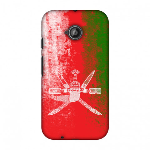 Love For Oman Slim Hard Shell Case For Motorola Moto E 2nd Gen