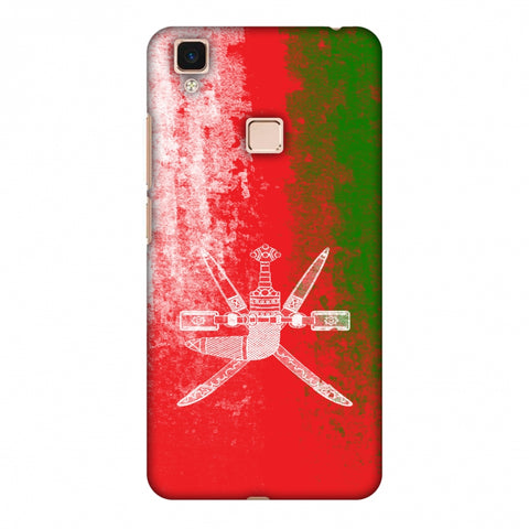 Love For Oman Slim Hard Shell Case For Vivo V3 Max