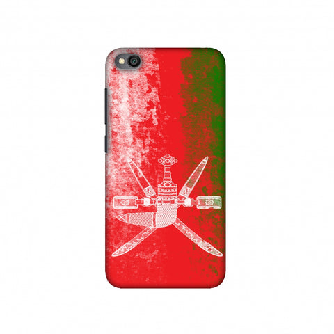 Love For Oman Slim Hard Shell Case For Redmi Go