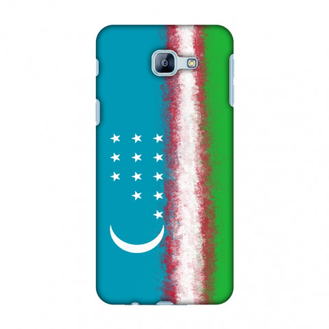Love For Uzbekistan Slim Hard Shell Case For Samsung Galaxy A8 2016