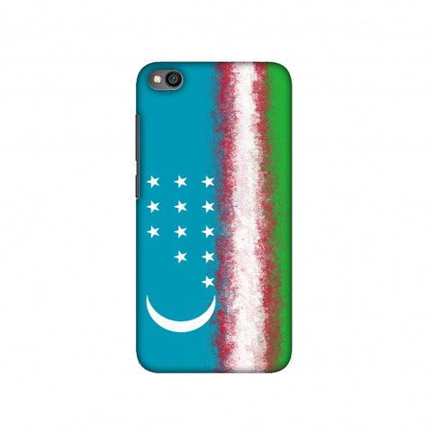 Love For Uzbekistan Slim Hard Shell Case For Redmi Go