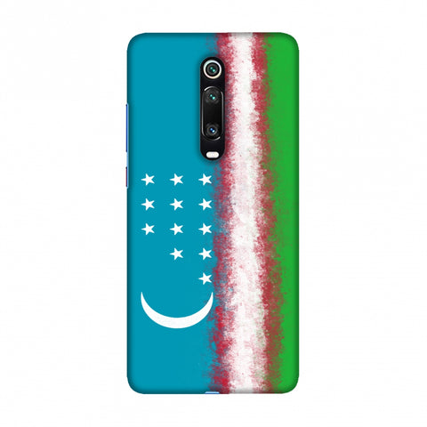 Love For Uzbekistan Slim Hard Shell Case For Redmi K20/K20 Pro