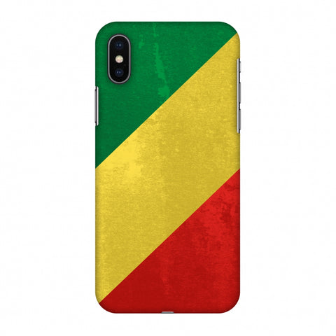 Love For Congo Slim Hard Shell Case For Apple iPhone X