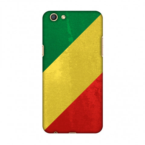 Love For Congo Slim Hard Shell Case For OPPO A77