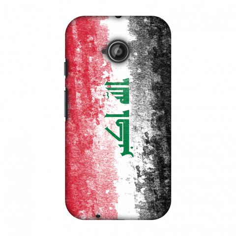 Love For Iraq Slim Hard Shell Case For Motorola Moto E 2nd Gen