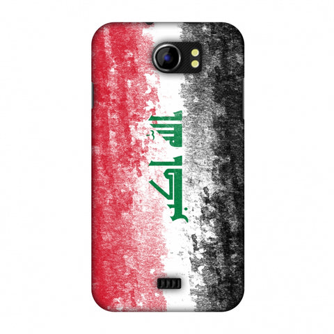 Love For Iraq Slim Hard Shell Case For Micromax Canvas 2 A110