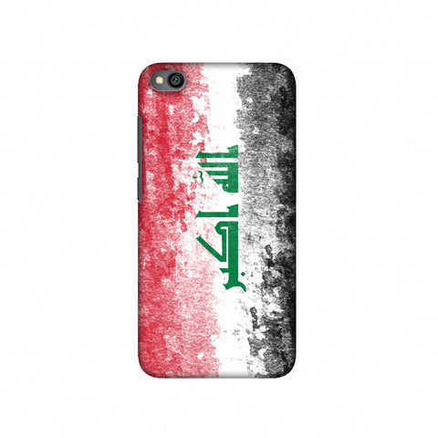 Love For Iraq Slim Hard Shell Case For Redmi Go