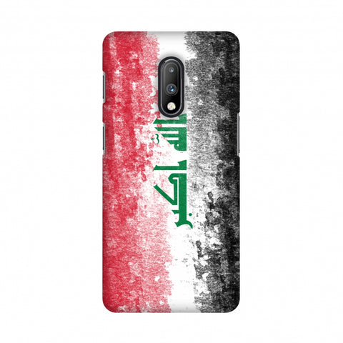 Love For Iraq Slim Hard Shell Case For OnePlus 7
