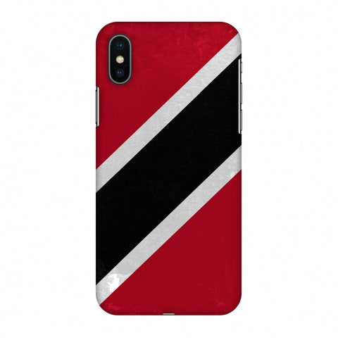Love For Trinidad And Tobago Slim Hard Shell Case For Apple iPhone X