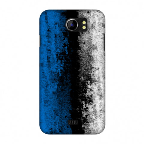 Love For Estonia Slim Hard Shell Case For Micromax Canvas 2 A110