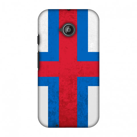 Love For Faroe Islands Slim Hard Shell Case For Motorola Moto E 2nd Gen