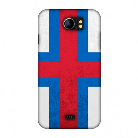 Love For Faroe Islands Slim Hard Shell Case For Micromax Canvas 2 A110