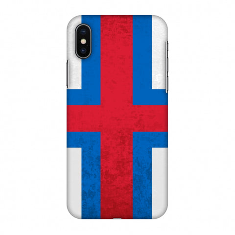 Love For Faroe Islands Slim Hard Shell Case For Apple iPhone X