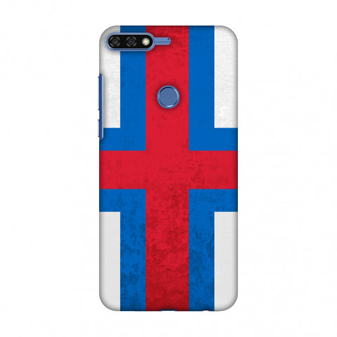 Love For Faroe Islands Slim Hard Shell Case For Huawei Honor 7C