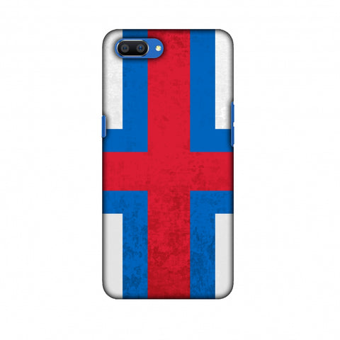 Love For Faroe Islands Slim Hard Shell Case For Oppo Realme C1