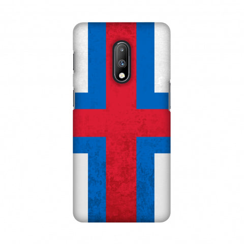 Love For Faroe Islands Slim Hard Shell Case For OnePlus 7