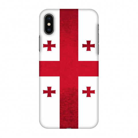 Love For Georgia Slim Hard Shell Case For Apple iPhone X