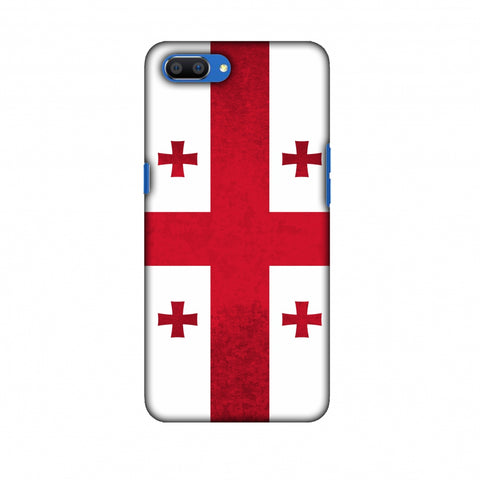 Love For Georgia Slim Hard Shell Case For Oppo Realme C1