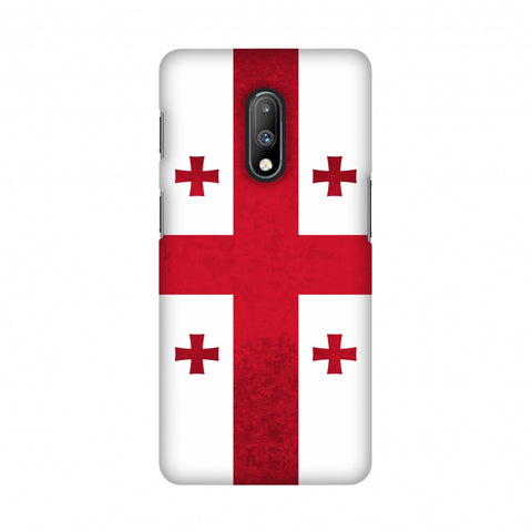Love For Georgia Slim Hard Shell Case For OnePlus 7