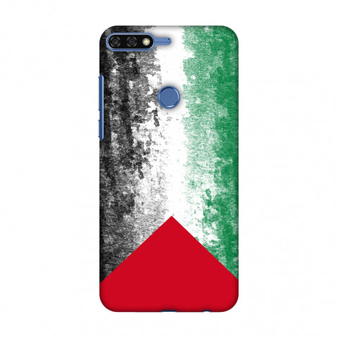 Love For Palestine Slim Hard Shell Case For Huawei Honor 7C
