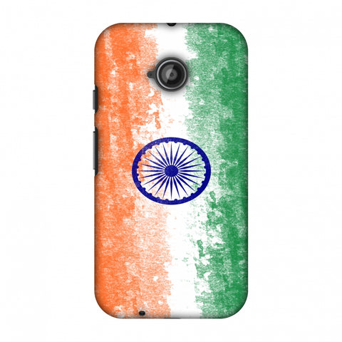 Love For India Slim Hard Shell Case For Motorola Moto E 2nd Gen
